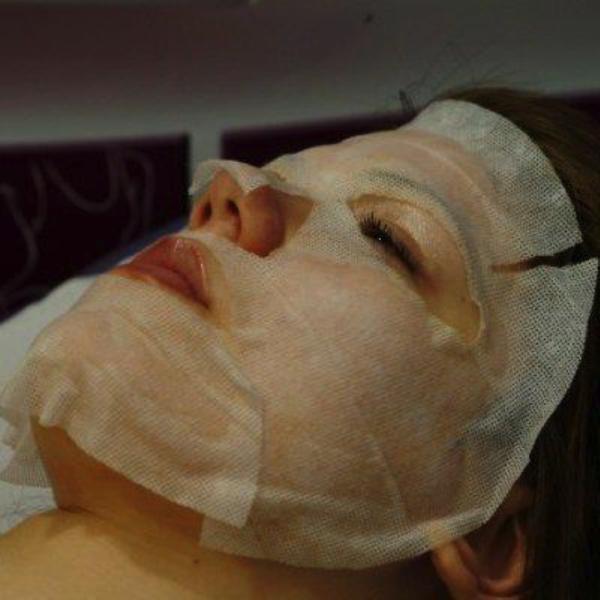 Royal Care Anti Falten Maske mit Ginseng für das Gesicht